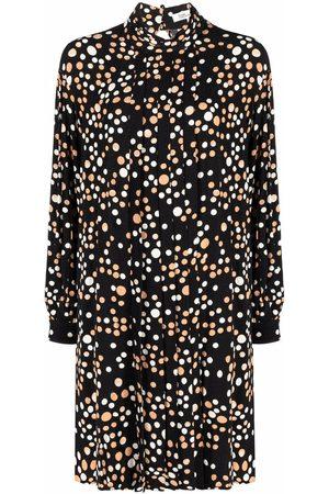 Diane von Furstenberg Polka-dot shirt dress