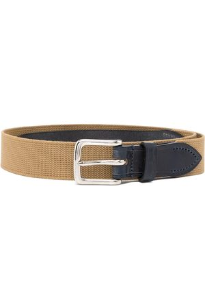 Anglozine 1947 leather buckled belt