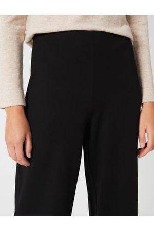 Hobb's M&S Womens Elasticated Waist Wide Leg Trousers - 8