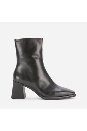 Vagabond Women Heeled Boots - Women's Hedda Leather Heeled Boots