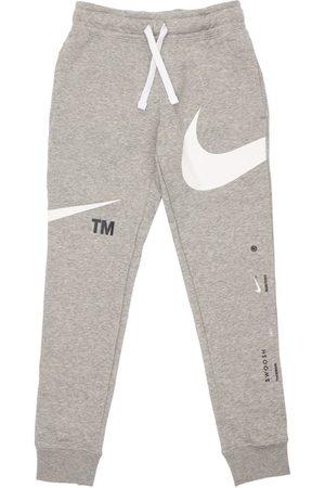 Nike Logo Print Cotton Sweatpants