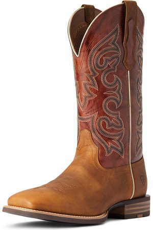 Ariat Men Cowboy Boots - Men's Everlite Go Getter Western Boots in Sorrel Crunch