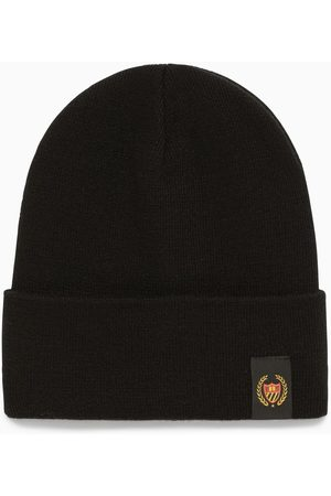 BEL-AIR ATHLETICS Knitted bonnet with logo