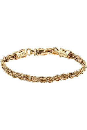 EMANUELE BICOCCHI Small gold-plated woven bracelet