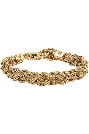 EMANUELE BICOCCHI Plated woven bracelet