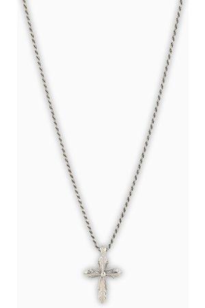 EMANUELE BICOCCHI Silver cross necklace