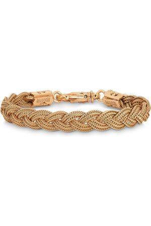 EMANUELE BICOCCHI Plated braided bracelet