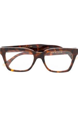 Retrosuperfuture Tortoiseshell-effect glasses