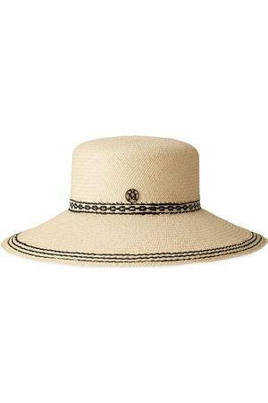Le Mont St Michel New Kendall straw hat - Neutrals