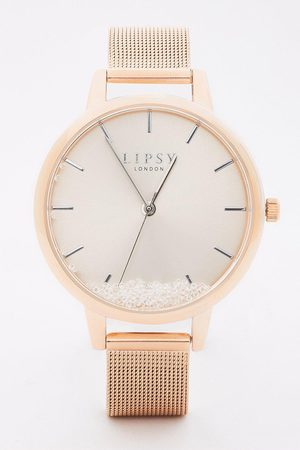Lipsy London Mesh Strap Watch With Dial