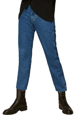 Whistles Authentic Organic Slim Frayed Jean