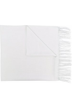 Emporio Armani Longline fringed scarf