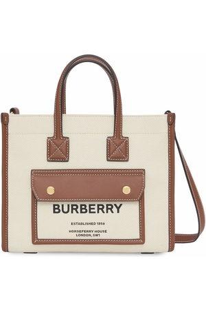 Burberry Mini Freya tote bag - Neutrals