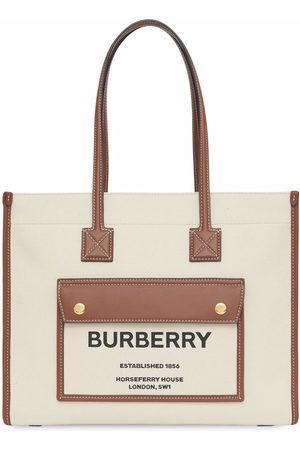 Burberry Small Freya tote bag - Neutrals