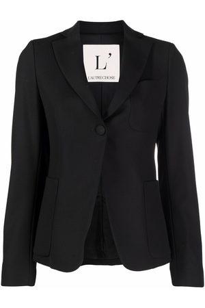 L'Autre Chose Long sleeved stretch-design blazer