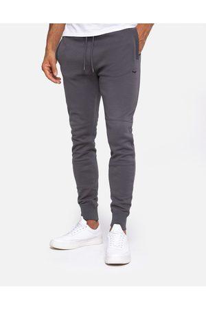Threadbare Men Joggers - Pique Charcoal Plain Slim Fit Joggers