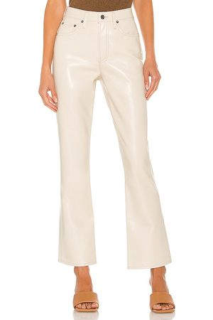 AGOLDE Recycled Leather Relaxed Boot Pant in . Size 24, 25, 26, 27, 28, 29, 30, 32.