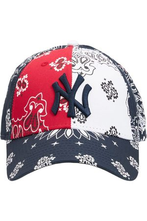 New Era Men Hats - Mlb Paisley Print Ny Yankees 9forty Cap