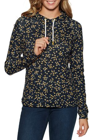 Joules Marlston Print s Pullover Hoody - Navy Ditsy