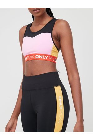 Only Play Colour Block Sports Bra - /