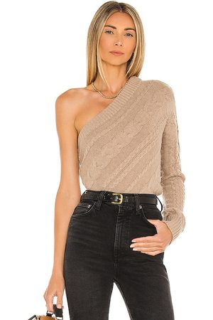 L'Agence Zoey Asymmetrical Sweater in . Size XS, S, M.