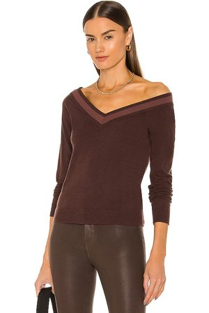 L'Agence Kassidy V Neck Sweater in . Size XS, S, M.
