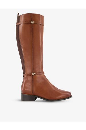 Dune Women Boots - Tap leather riding boots