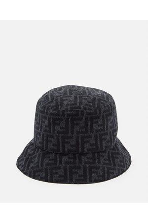 Fendi Men Hats - WOOL BLEND BUCKET HAT size M