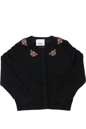 Burberry Boys Cardigans - Wool Knit Cardigan
