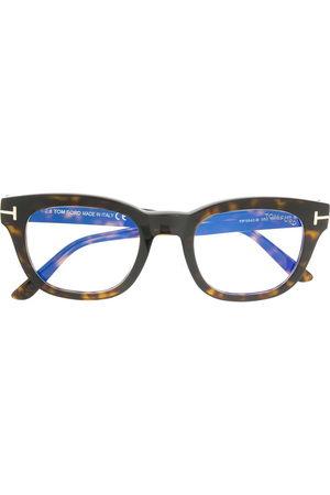 Tom Ford Sunglasses - Blue-block soft square opticals
