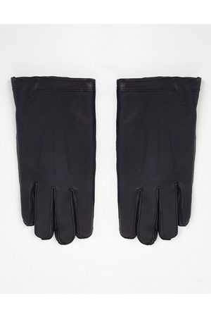 French Connection Classic leather gloves in