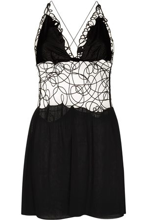 Tom Ford Sheer embroidered mini dress
