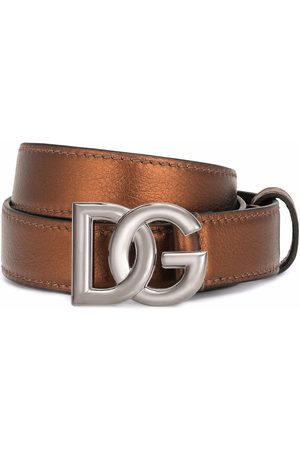 Dolce & Gabbana Men Belts - DG buckle belt