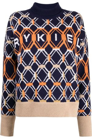 Sonia by Sonia Rykiel Logo geometric jumper
