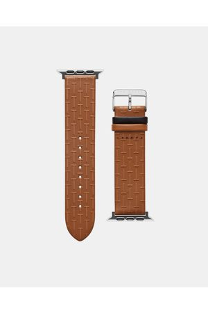 Ted Baker Men Watches - Bks42f133 T-embossed Apple Watch Strap