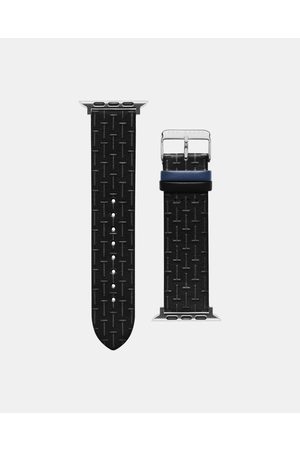 Ted Baker Men Watches - Bks42f131 T-embossed Apple Watch Strap