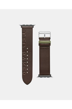 Ted Baker Men Watches - Bks42f120 Leather Apple Watch Strap
