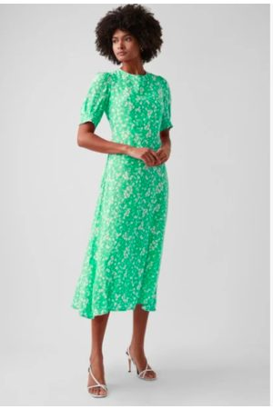 Great Plains Ditsy Round Neck Dress - Fresh - more stock arriving 1st week of Sept