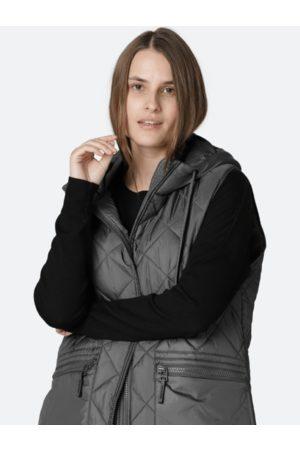 Ilse Jacobsen Women Body Warmers - Dark Padded Gilet 10 AERIAL04 033