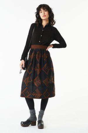 Antik Batik AW21 Delphine Printed Skirt