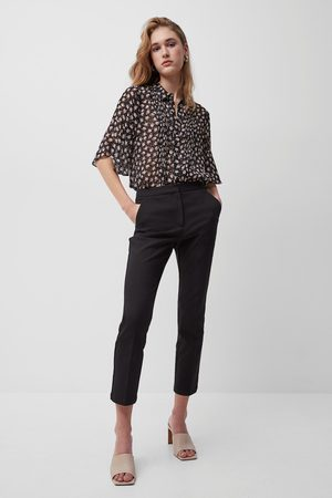 French Connection Fino Glass Stretch Slim Trousers- -74NZE