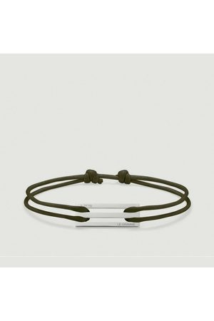 Le Gramme 25/10g Cord Bracelet Khaki
