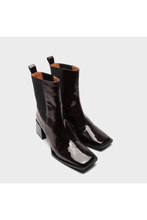 Twist & tango Ghent Boots - Coffee Patent