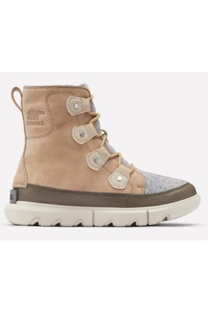 Sorel Explorer ll Joan Felt Taupe Boots