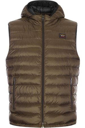 Paul And Shark Padded Gilet - Olive