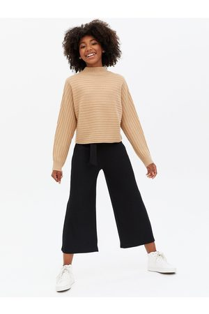New Look Girls Ribbed High Neck Jumper