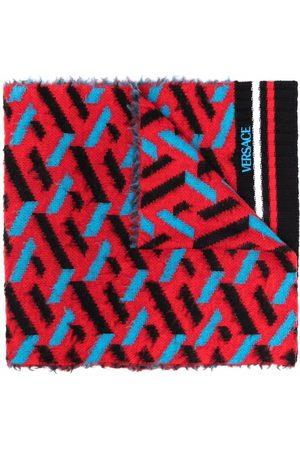 VERSACE Scarves - Monogram print scarf