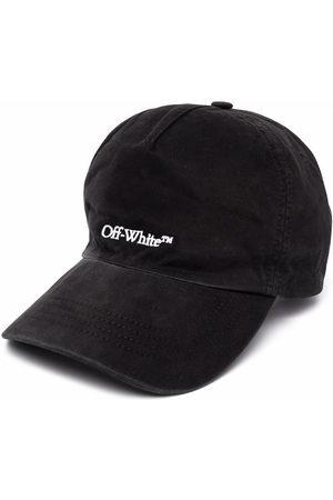 OFF-WHITE Men Hats - BOOKISH OW BASEBALL CAP WHITE