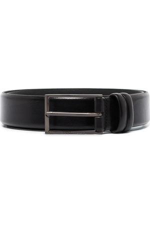 HUGO BOSS Men Belts - Carmello rectangle-buckle belt