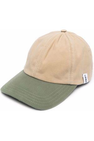 MACKINTOSH Waxed cotton cap - Neutrals